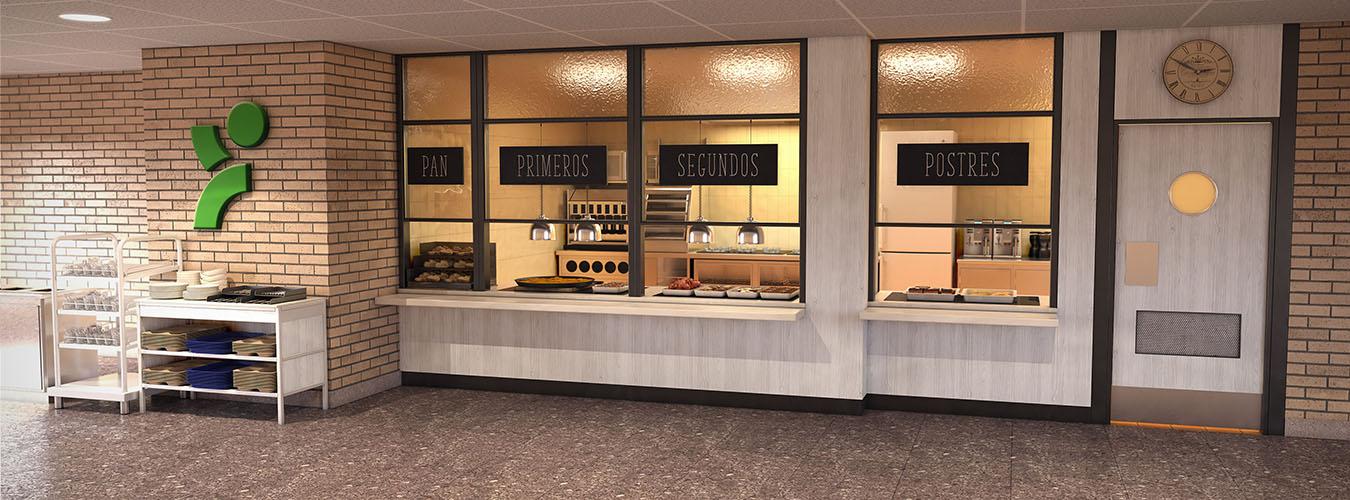Concepto Buffet Colegio